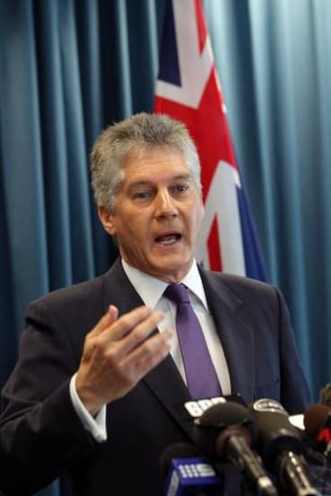 Australian Defence Minister Stephen Smith says he has 'no concerns' about alleged human rights abuses in West Papua.