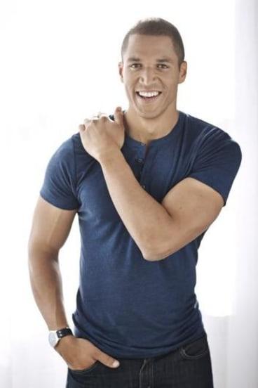 Heart on his sleeve: new Bachelor Blake Garvey.