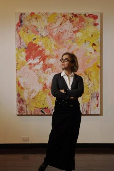Leading light: Aida Tomescu is one of the contemporary artists ensuring the strength of Australian painting.