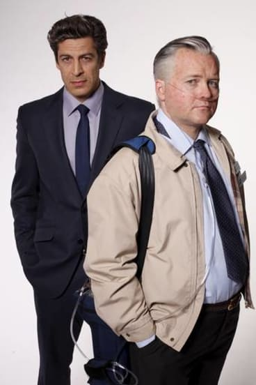 Don Hany and Anthony Hayes star in the ABC's two-part drama <i>Devil's Dust</i>.
