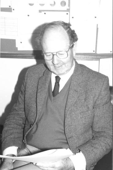 Bob Buntine in 1986.