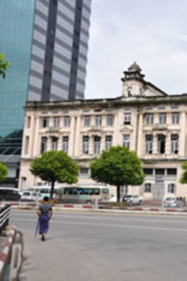 The Burmese Favourite department store.