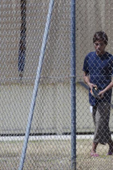 A teenage asylum seeker on Christmas Island who was part of the first group due to be deported to Malaysia.