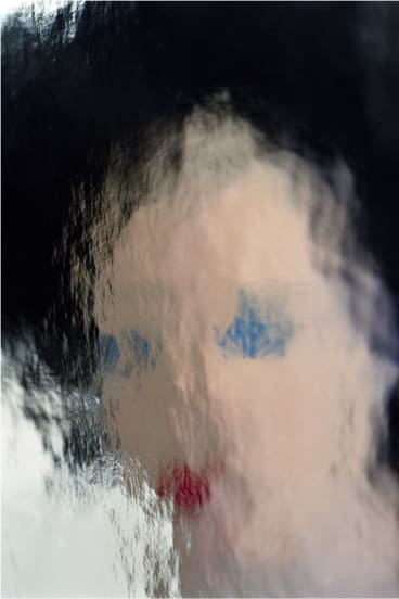 Polly Borland's <i>Pupa XIX</i>, 2012. Borland's work questions how conventional photography functions.