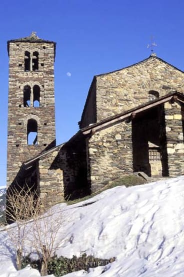 Slump … visitor numbers to Andorra are down.