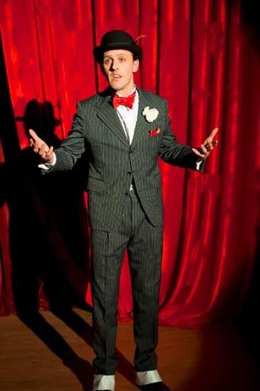 Lively ... Andrew Johnson, as Astor.