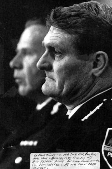 Murdered: Former AFP assistant commissioner Colin Winchester.
