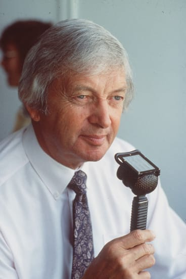 Former cricketer, now broadcaster Richie Benaud