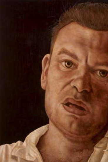 Jason Benjamin's portrait of ?former Canberra artist McLean Edwards.