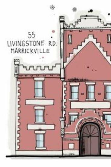 Marrickville building by James Gulliver Hancock.