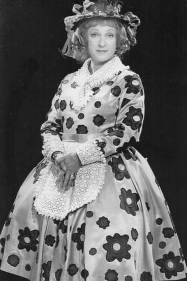 Brian Crossley as Mrs Flower Potts.