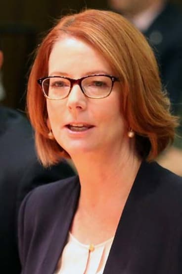 Women worst off under Abbott: Julia Gillard.