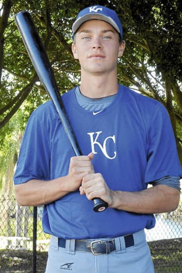 Young gun … Ryan Dale has just signed with the Kansas City Royals.