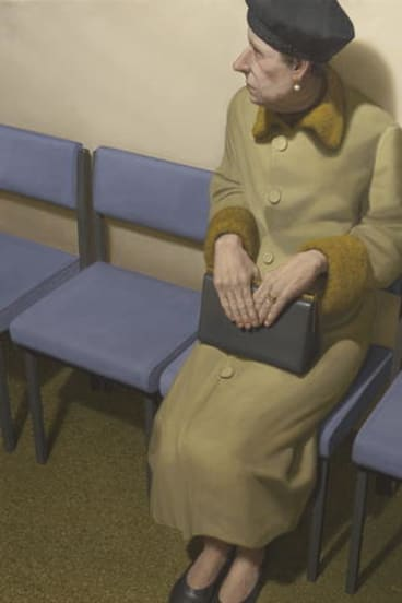 <i>Waiting</i> by Ron Francis.