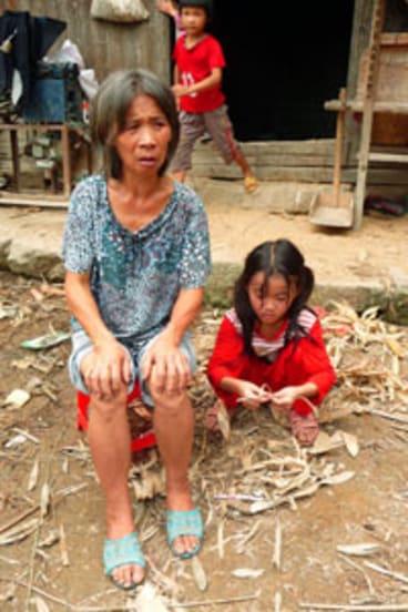 ''I was screaming'' ...   Liu Suzhen, whose baby granddaughter was taken in 2004.