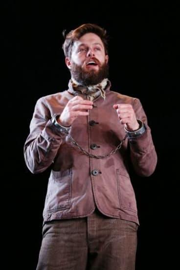 Steven Rooke as Ned Kelly.