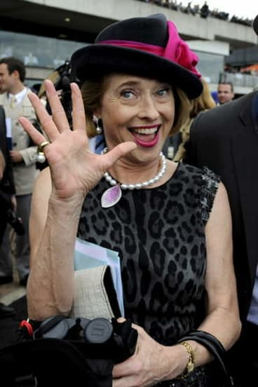 What's the betting?: The rumour mill has Gai Waterhouse considering a move south.