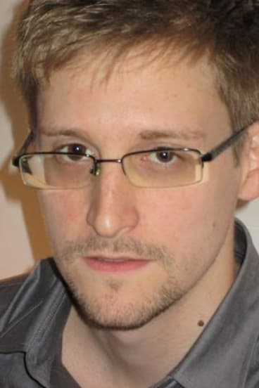 NSA whistlblower Edward Snowden.
