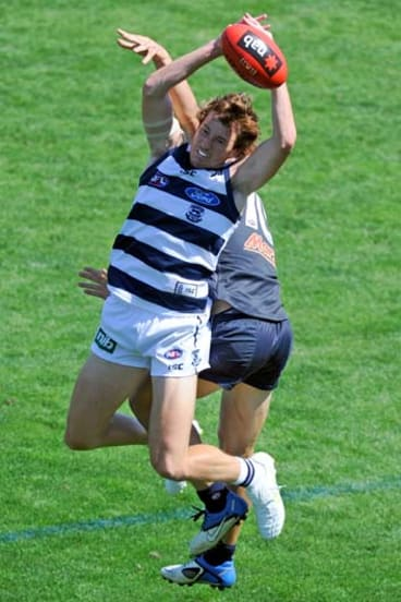 Geelong's Mitch Brown.
