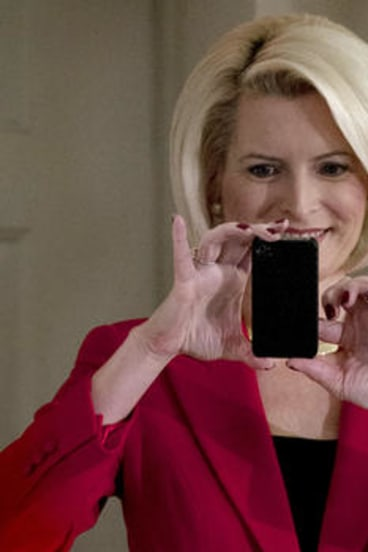 Gingrich's current wife Callista Bisek.