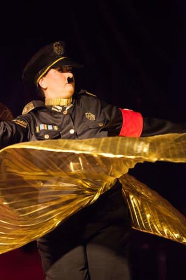 The Die Fringe Burlesk! performance at the Canberra Fringe on Friday.