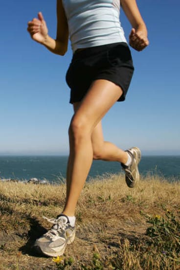 Step it up: Is running the secret to a longer life? Photo: iStock