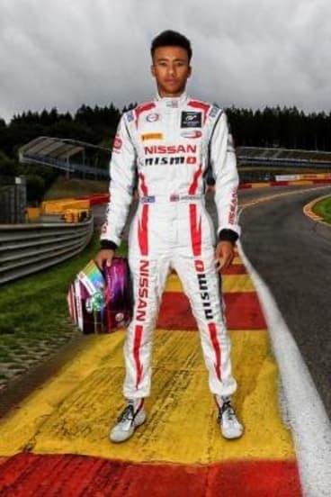 Roar talent: Mardenborough had never raced a car before 2011.