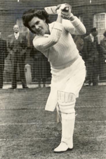 Cricketing great Betty Wilson.