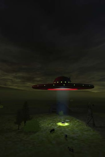 Numerous Brisbane residents have reported seeing UFOs.