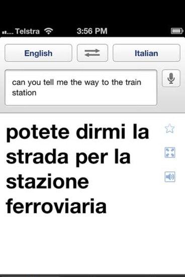 Translation apps: Google Translate v iTranslate Voice