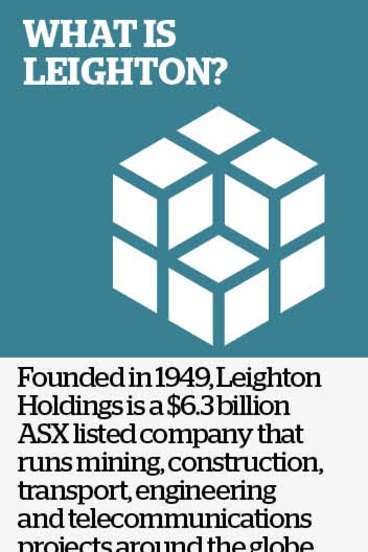 Building giant Leighton rife with corruption: claims
