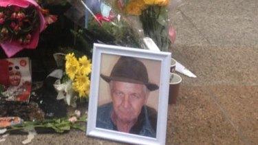 A tribute to street vendor Ralph.