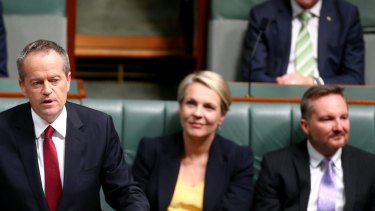 Opposition Leader Bill Shorten delivers the budget reply speech.