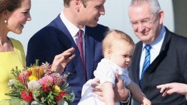 Curious (Prince) George...thrilled to be here.