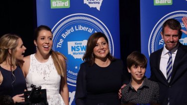 'I love this state.' Baird wins a second term.