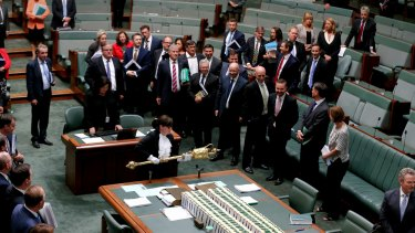 The House of Representatives adjourns on Tuesday.