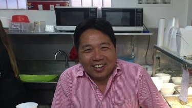 Thai Le was preparing Hokkien Mee in his restaurant on Friday when he saw the smoke.