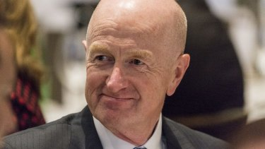 """RBA governor Glenn Stevens: """"Let's not overplay the significance but the economy is growing."""""""