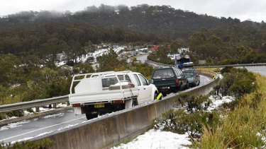 The Great Western Highway near Mount Victoria. Photo by Nick Moir.