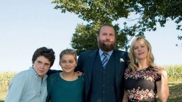 Luca Gelberg, Louane Emera, Francois Damiens and Karin Viard star in French hit film <i>The Belier Family</i>.