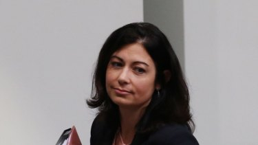 Labor MP Terri Butler was ejected from the house during question time on Wednesday.