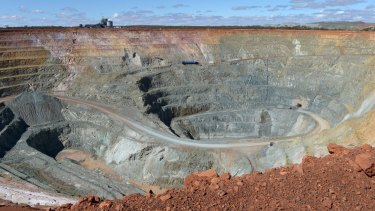 Copper is conveying worrying signals about global growth. Pictured, an Australian mine.