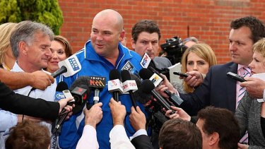 When will racing command thiis sort of attention again? Black Caviar trainer Peter Moody announces the retirement of Black Caviar.