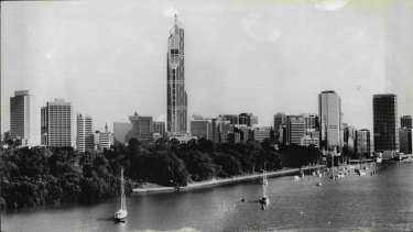 Brisbane Central would have been the tallest tower in the world.