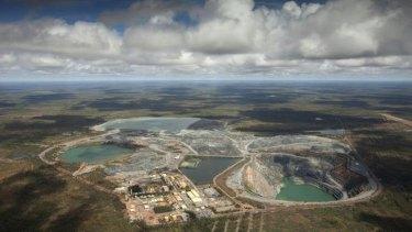 The Ranger uranium mine, surrounded by Kakadu National Park.