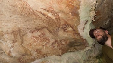 Researchers, including Maxime Aubert, have analysed several drawings from seven different Indonesian caves and discovered they were painted much earlier than first thought.
