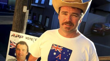 ''Our culture is better than the Muslim culture'' … Nick Folkes of the Australian Protectionist Party.