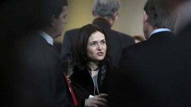 The social network: Sheryl Sandberg stresses the importance of seeking and giving support.
