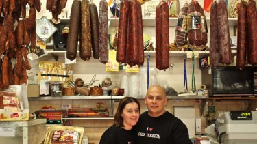 Mercia and Paulo de Sousa, owners of Casa Iberica.
