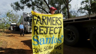 Some farmers are worried about the risk of damage to groundwater from coal seam gas development.